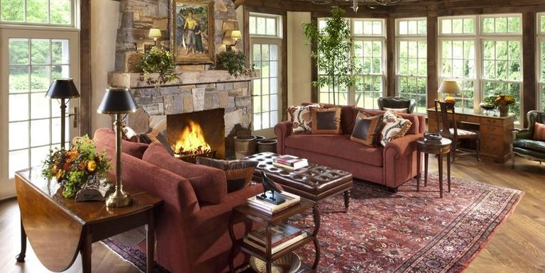 rustic living room ideas - Rustic Interior Design Ideas