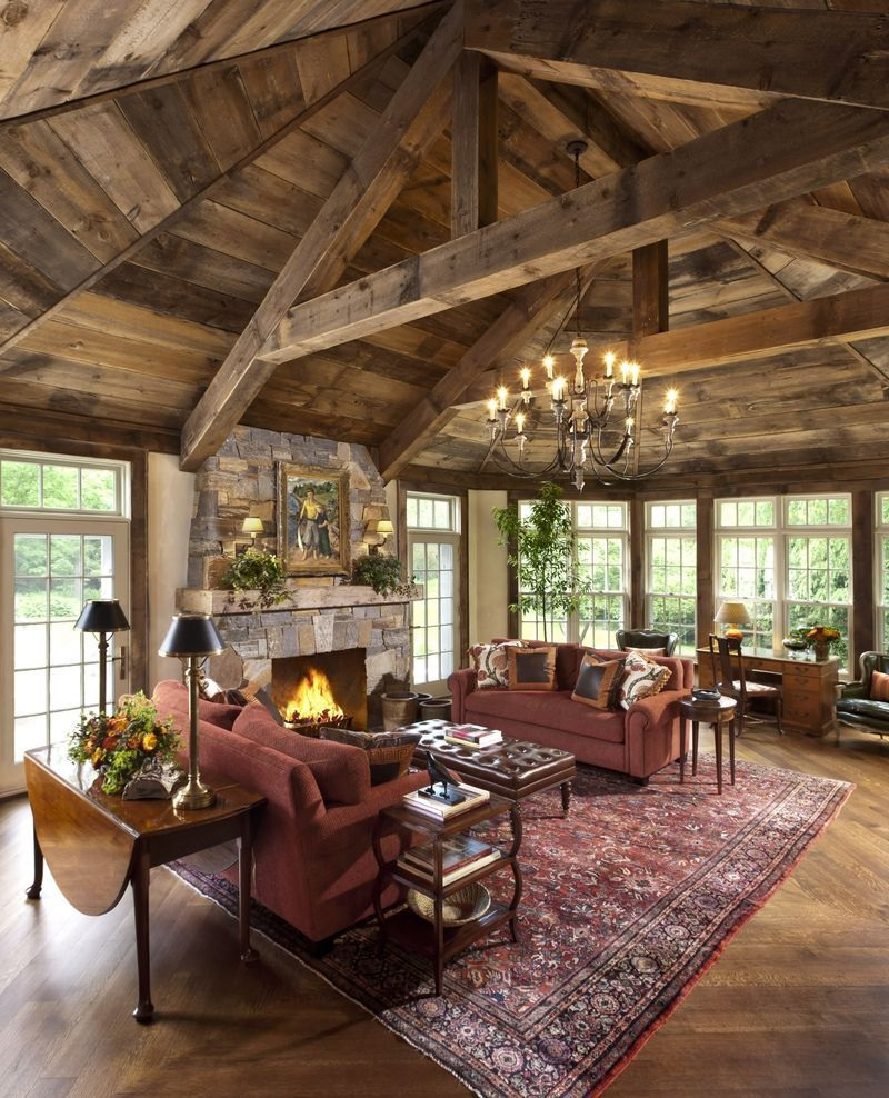 Attractive Rustic Living Room Ideas