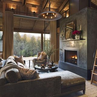 24 Best Rustic Living Room Ideas - Rustic Decor for Living Rooms