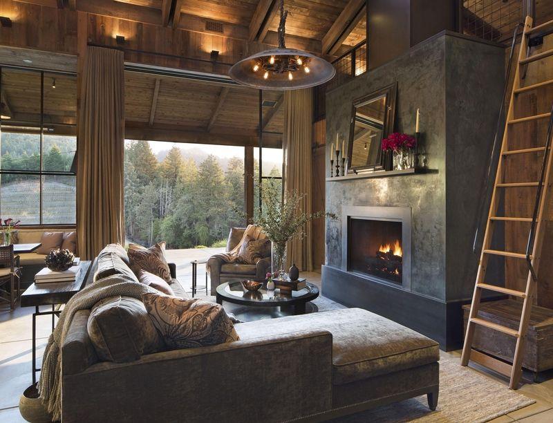 Charming Rustic Living Room Ideas