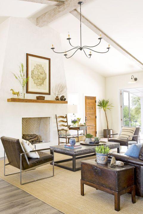 25 Rustic Living Room Ideas - Modern Rustic Living Room ...