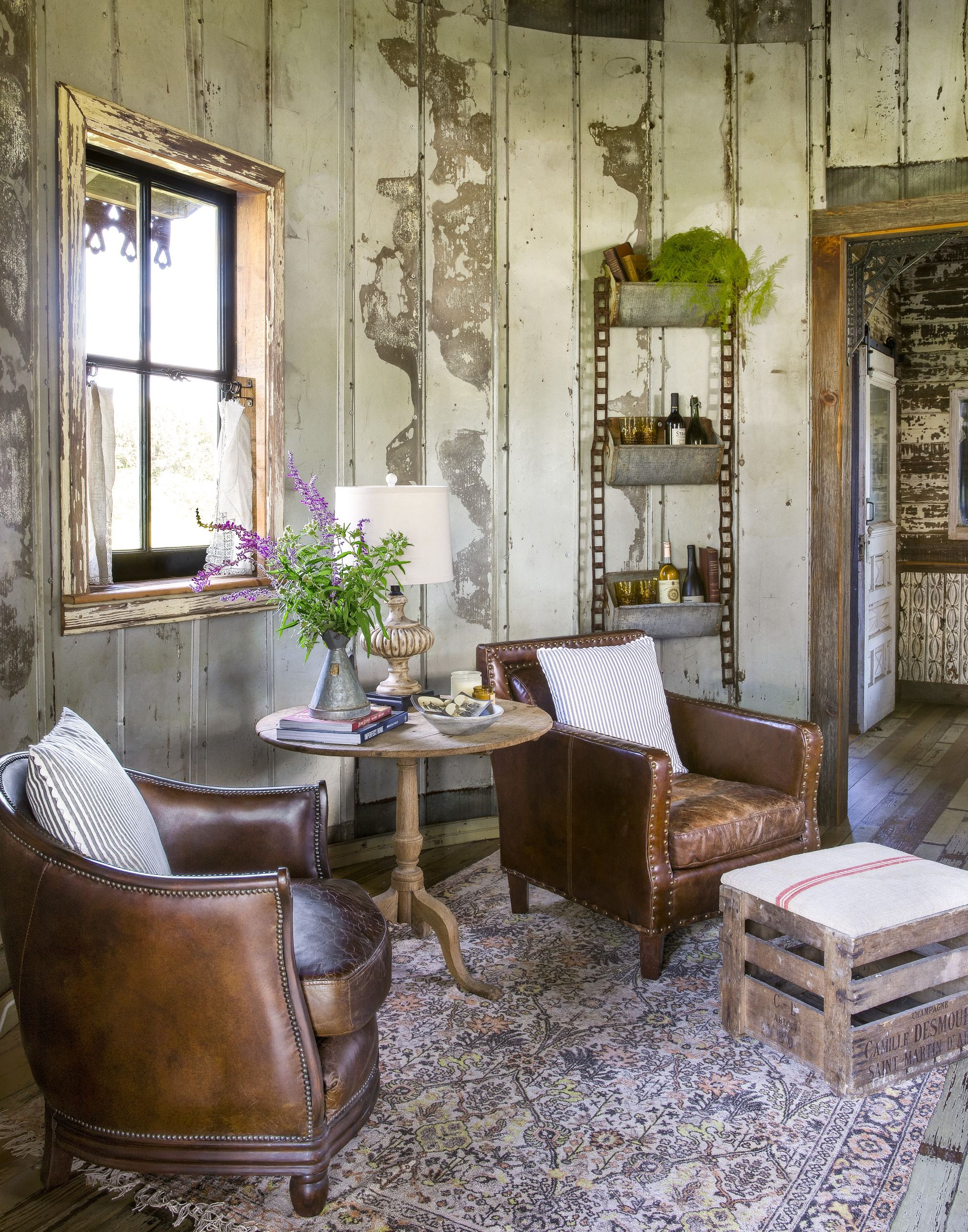 10 Rustic Living Room Ideas - Modern Rustic Living Room Decor and