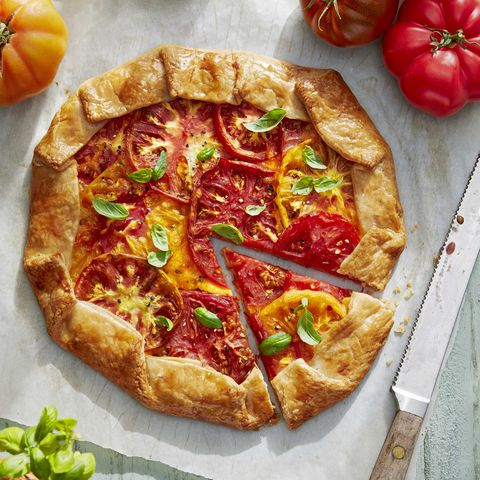 make ahead camping meals Rustic Tomato Galette