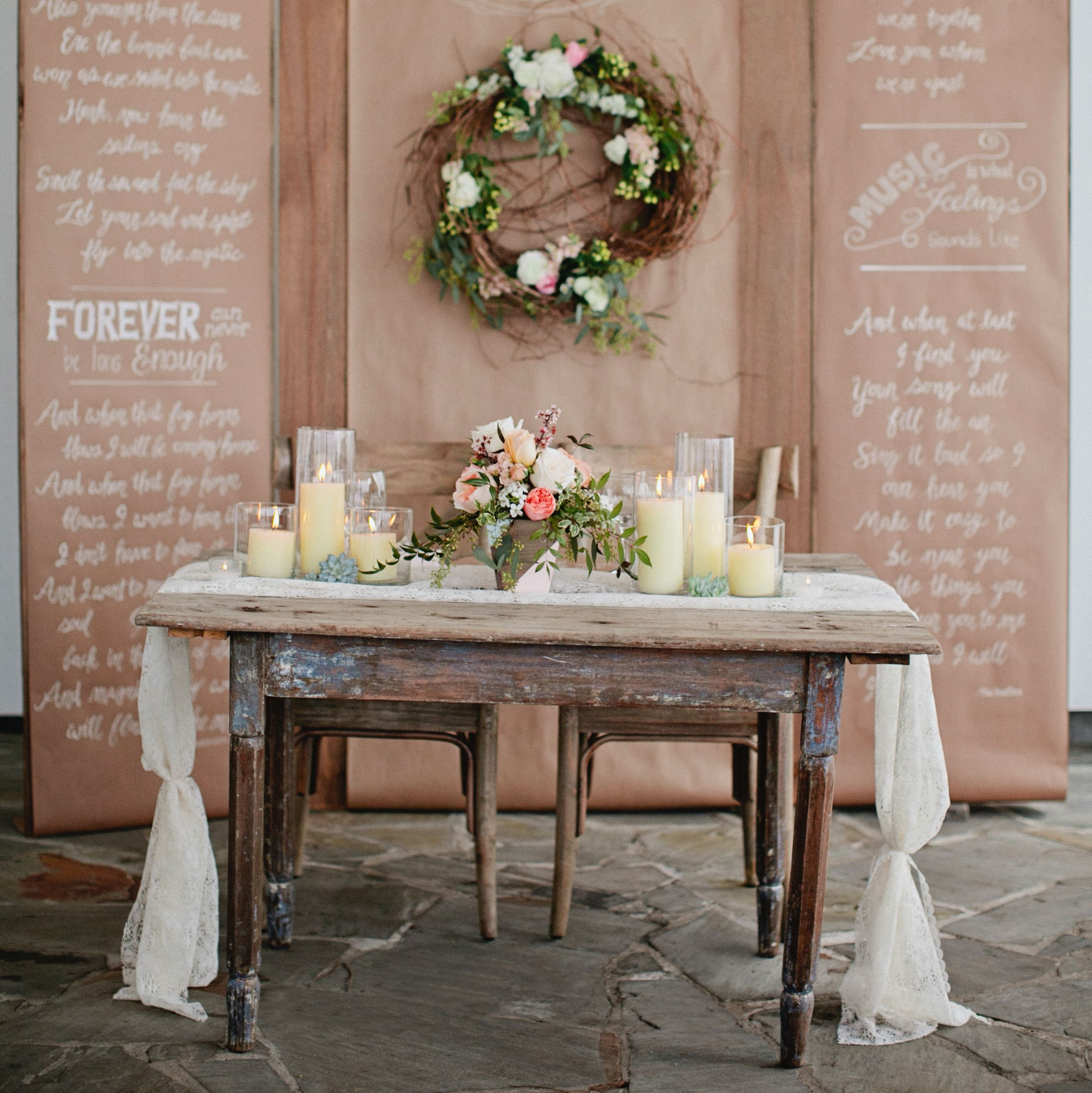 25 Stunning Rustic Wedding Ideas - Decorations for a Rustic ...