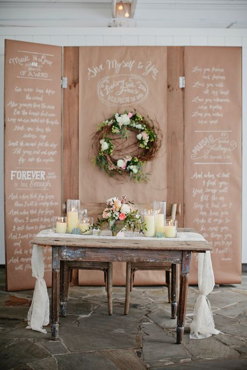 25 Stunning Rustic Wedding Ideas - Decorations for a Rustic Wedding