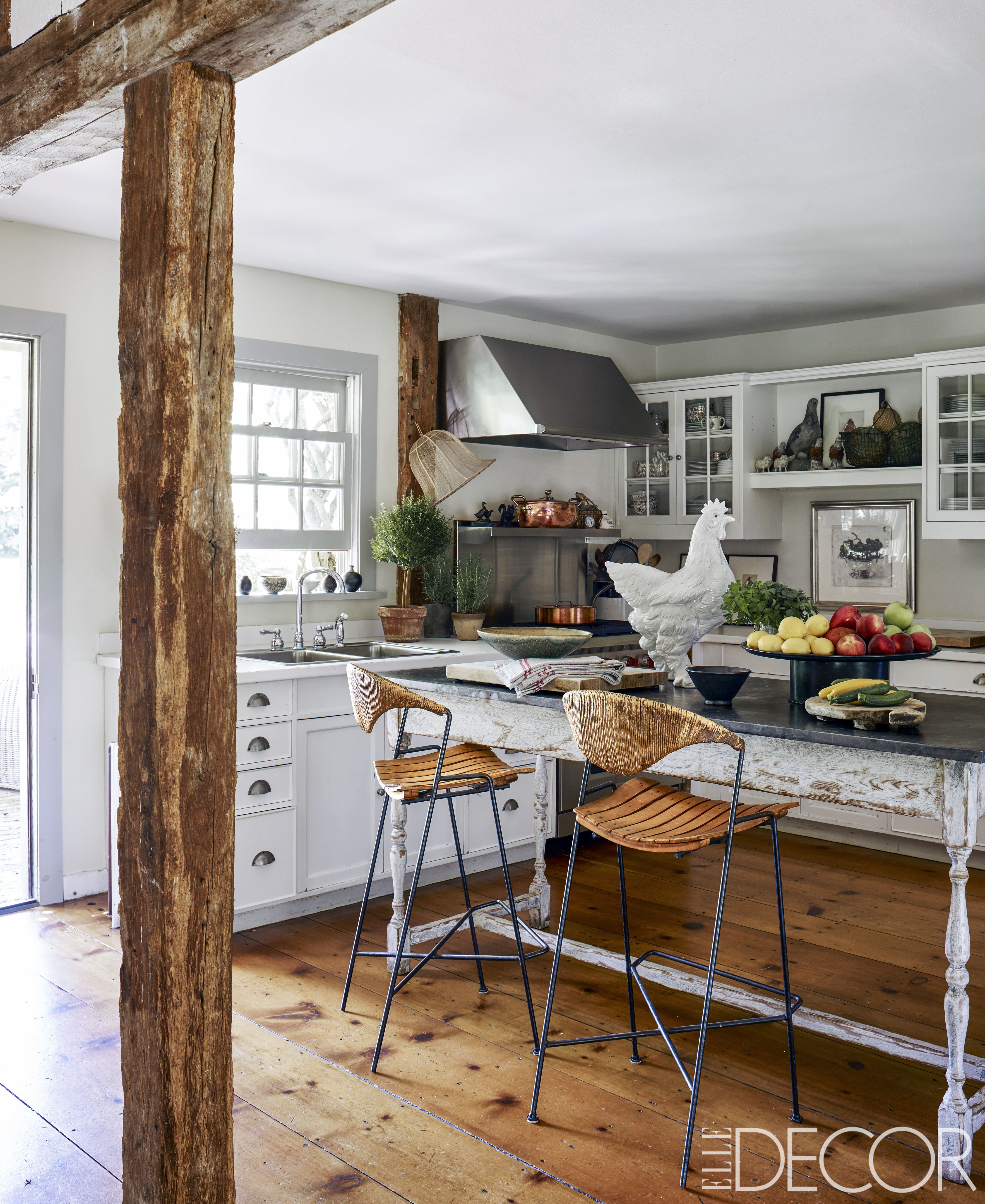 Ordinary Rustic Kitchen Ideas Part - 7: Elle Decor