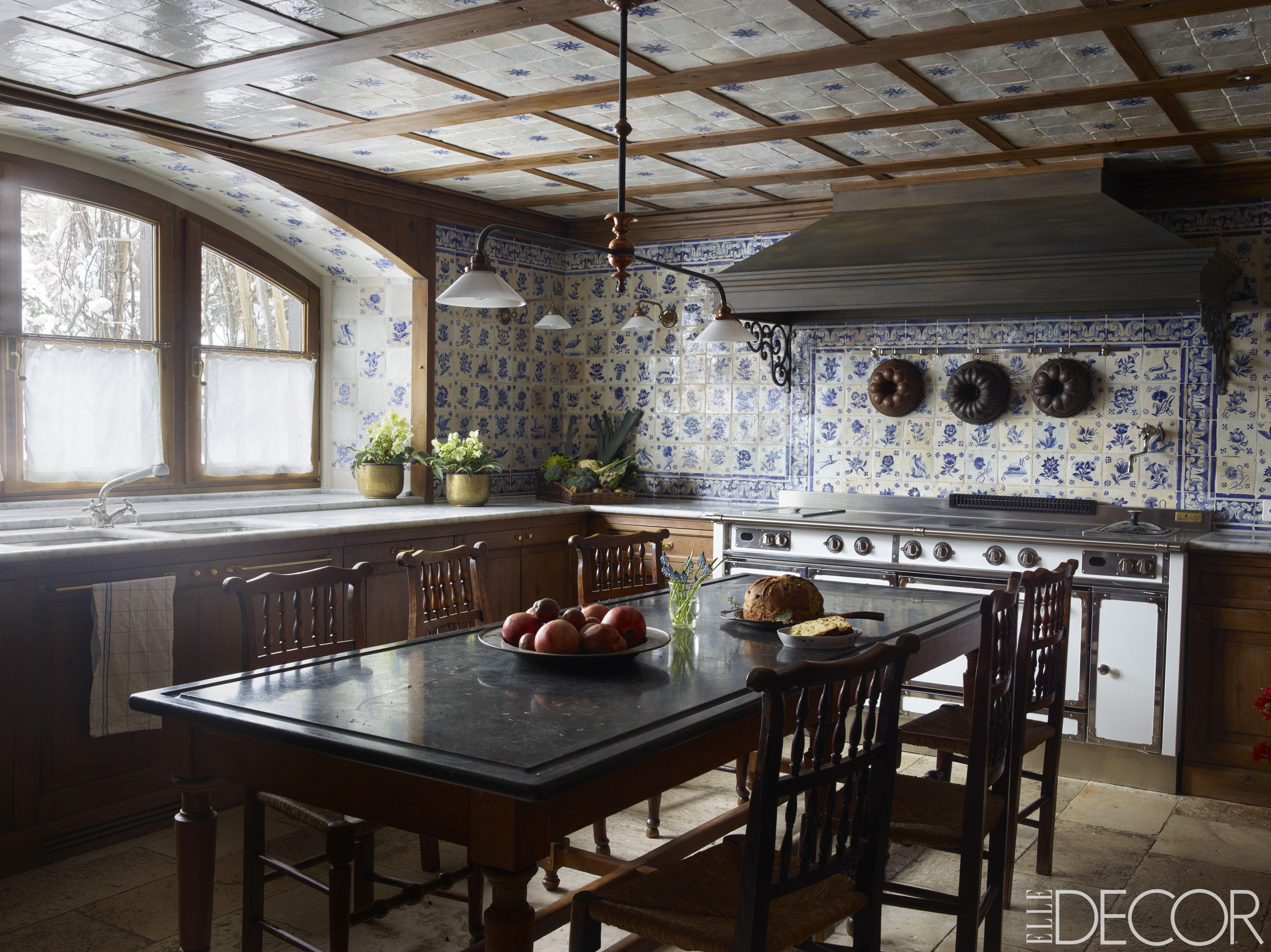 25 rustic kitchen decor ideas country kitchens design rh elledecor com