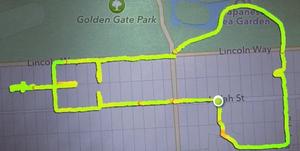 ruta running pene