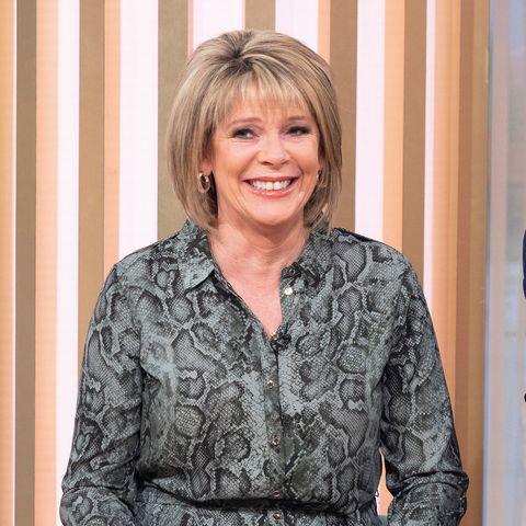 Ruth Langsford snakeskin shirt dress This Morning