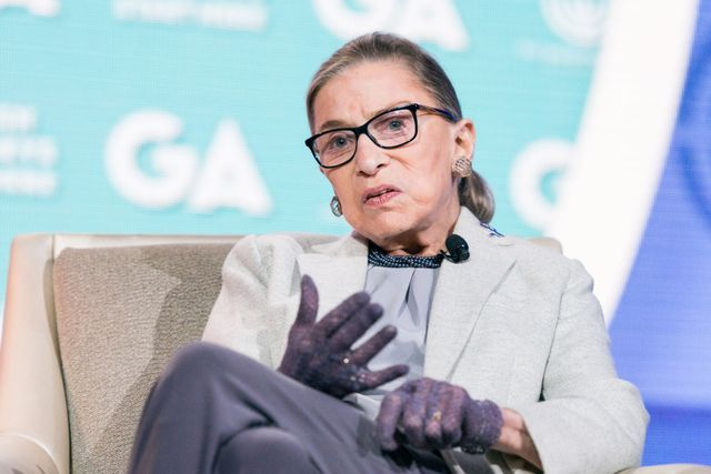 ruth bader ginsburg, associate justice of the supreme court