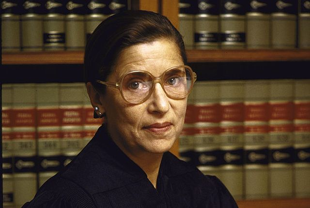 united states   september 01  judge ruth bader ginsburg in her chambers, us courthouse  photo by terry ashethe life images collection via getty imagesgetty images