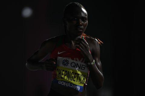 chepngetich wint marathon wk doha