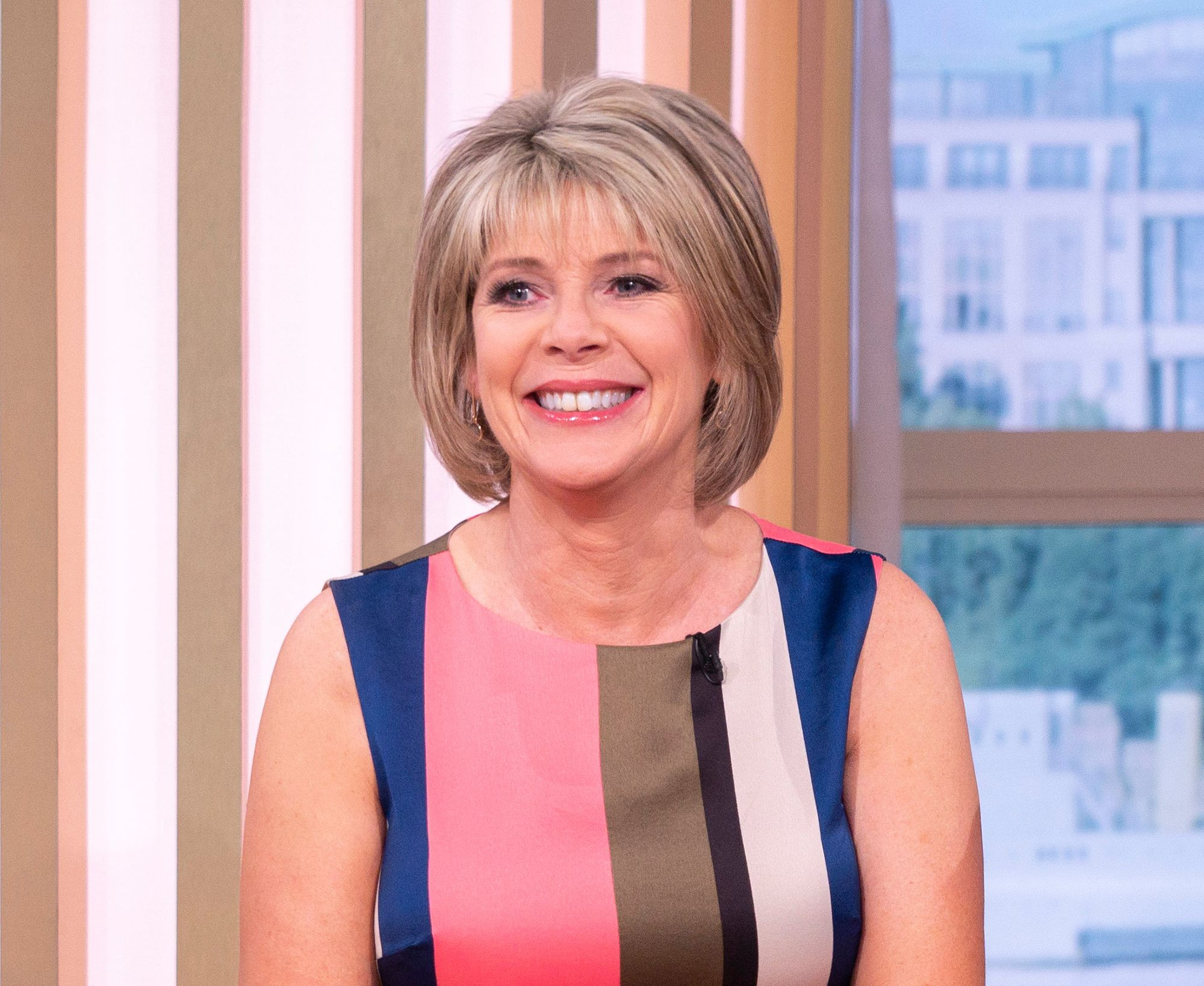 Ruth Langsford's stunning shirt dress is from a sustainable brand