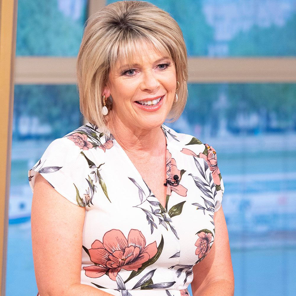 Ruth Langsford's colourful midi dress is from a little-known high street brand