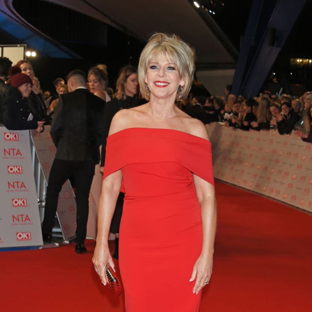 ruth langsford abstract dress hobbs