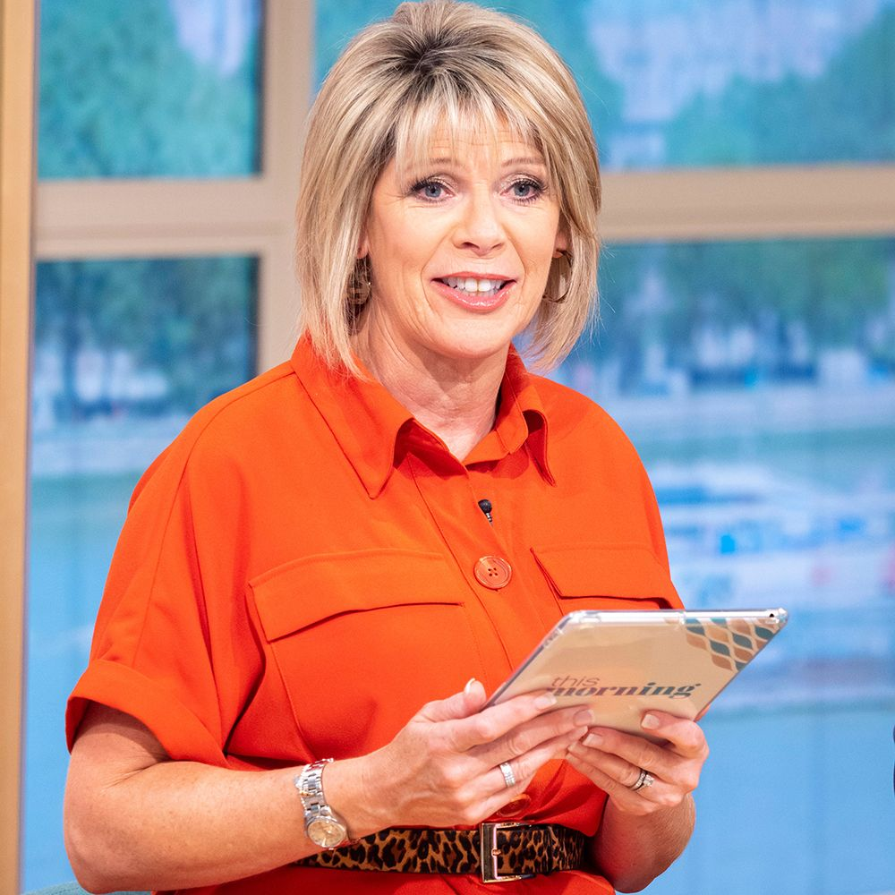 Ruth Langsford wears £25 polka dot dress from Tesco