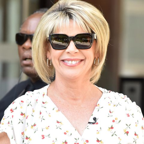 ruth langsford organises freezer with new label maker