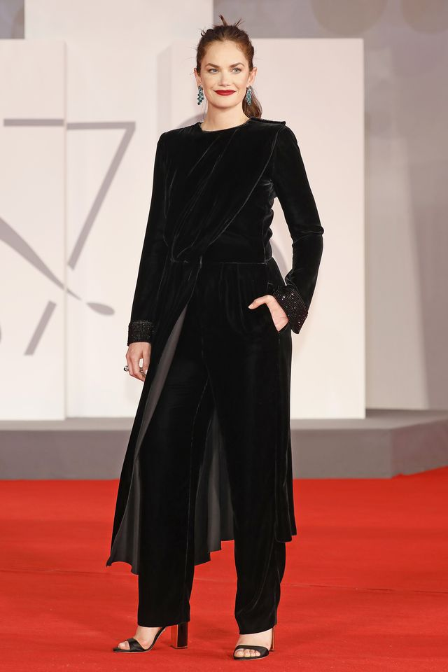 ruth wilson red carpet of 'mona lisa and the blood moon'