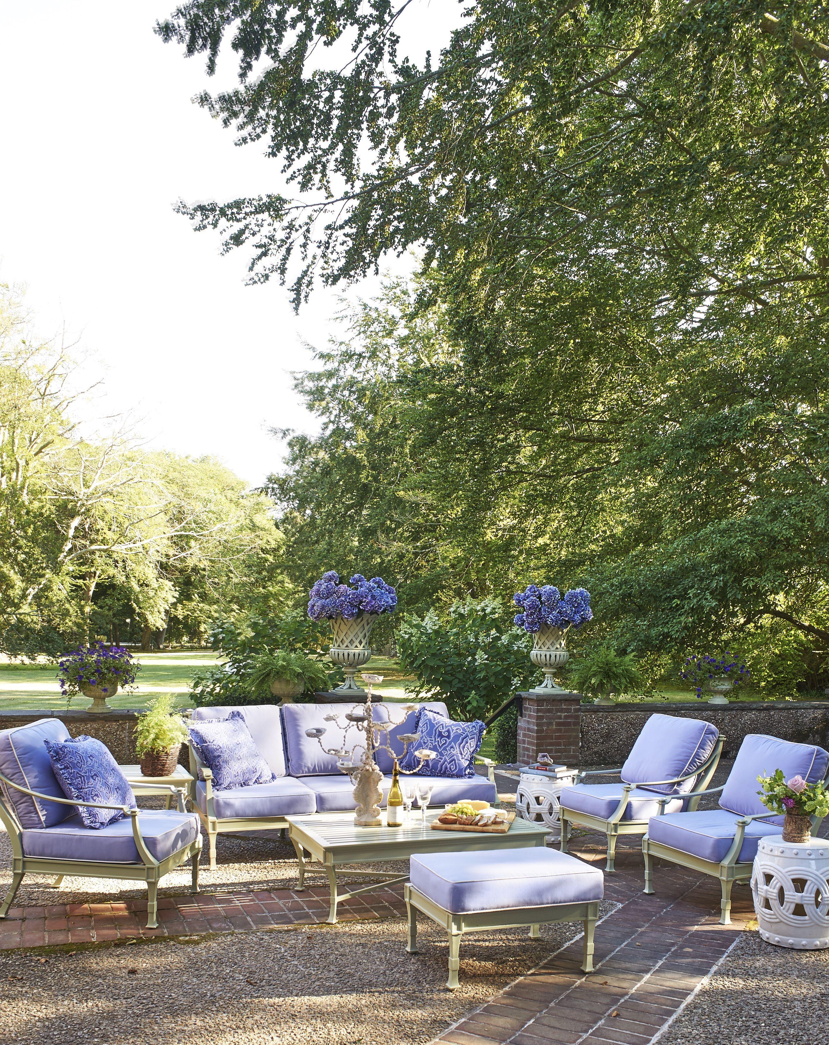 ruthie sommers newport rhode island patio backyard purple veranda