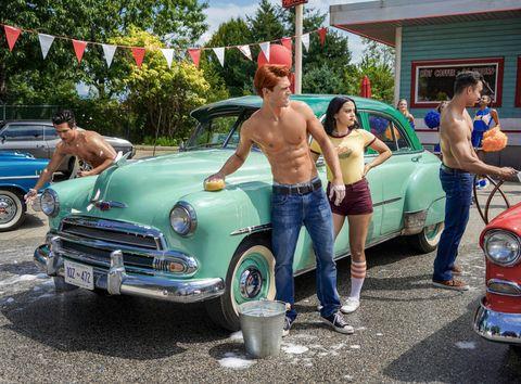 Land vehicle, Vehicle, Car, Motor vehicle, Classic car, Classic, Summer, Mid-size car, Sedan, Antique car,