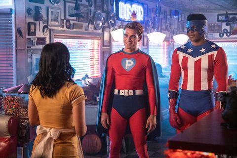 Superhero, Fictional character, Hero, Justice league, Batman, Costume, Action figure, Superman,