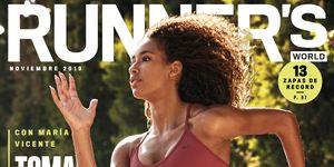 María Vicente, portada de Runner's World de noviembre de 2019