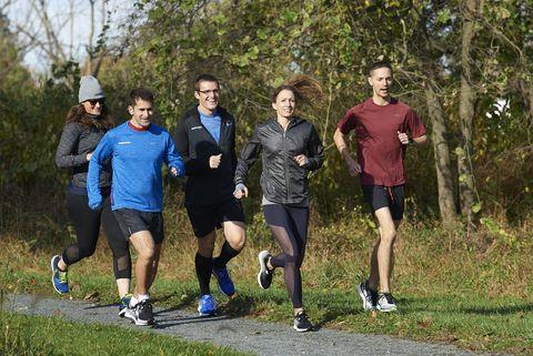 Runner's World on a lunch run