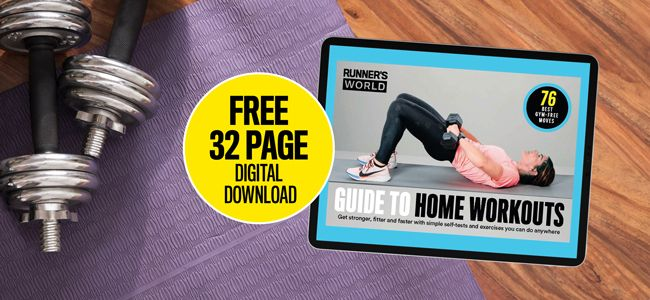 Get your free Runner's World 'Guide to Home Workouts' digital special