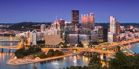 City, Cityscape, Metropolitan area, Urban area, Skyline, Metropolis, Human settlement, Night, Sky, Skyscraper,