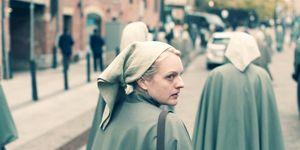 """Elisabeth Moss en """"El cuento de la criada"""""""