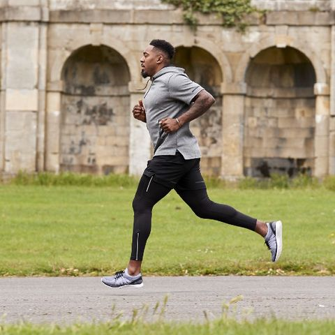 Running, Outdoor recreation, Sports, Recreation, Jogging, Athlete, Individual sports, Exercise, Sports training, Grass,