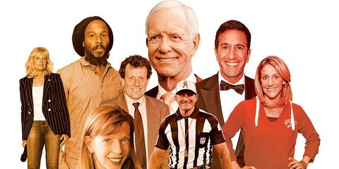 celebrity and famous runners