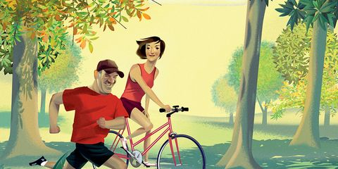 Running With Your Spouse Jan 2013