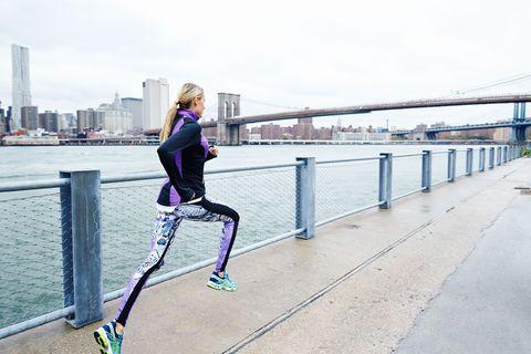 Running, Recreation, Footwear, Joint, Exercise, Individual sports, Shoe, Leg, Bridge, Jogging,
