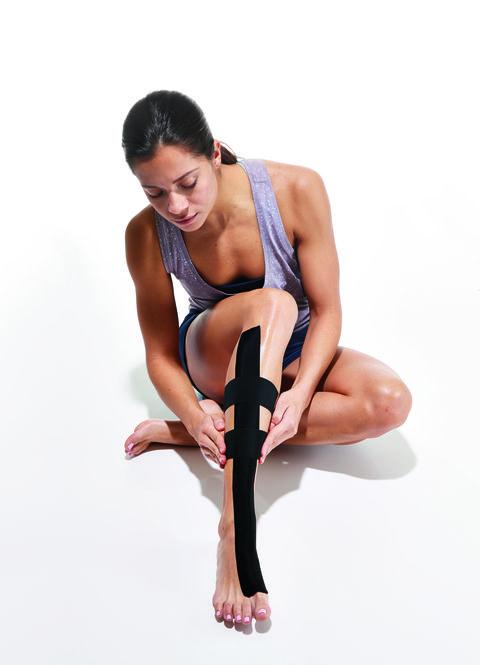 Kinesiology Tape Shin Splint Treatment
