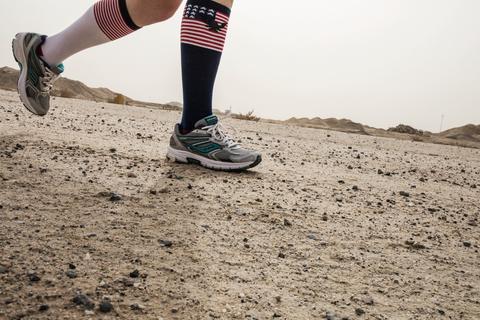 Soldiers Celebrate With Marathon in Kuwait
