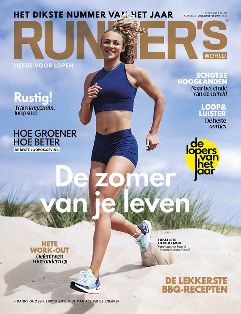 Runner's world juli augustus 2019