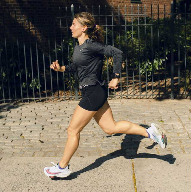 jess movold, runner's world coach, running and training in nyc on monday, september 28, 2020