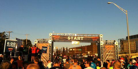 2013 RW Half Start Line
