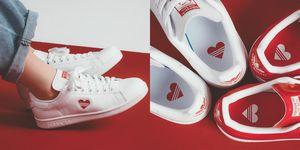 ELLE 球鞋上癮症, Stan Smith, adidas Originals, 情人節,情人節禮物,愛心球鞋,球鞋,小白鞋,愛迪達