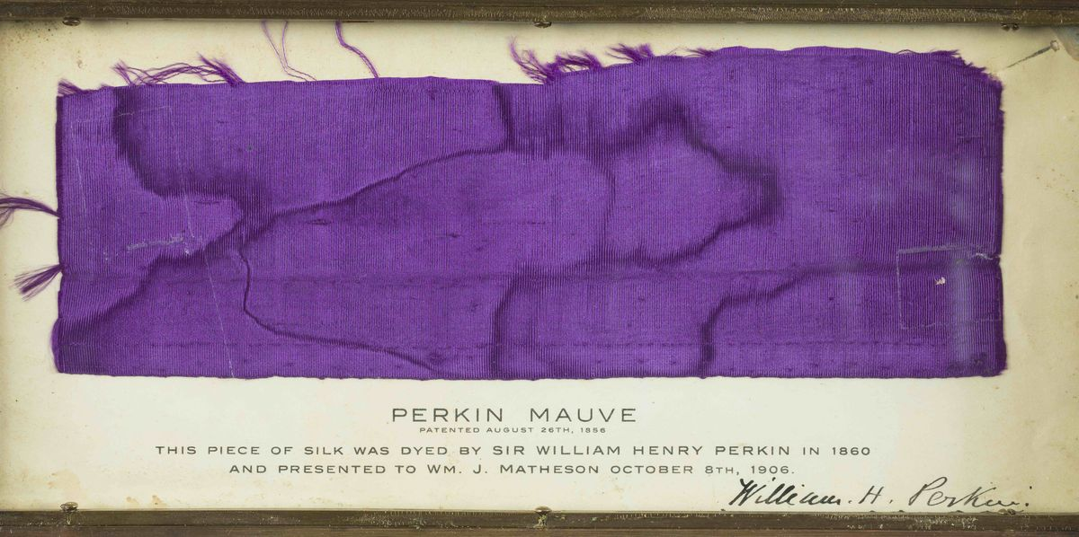 How scientist Sir William Henry Perkins discovered mauve, plus how to use the colour in your home…