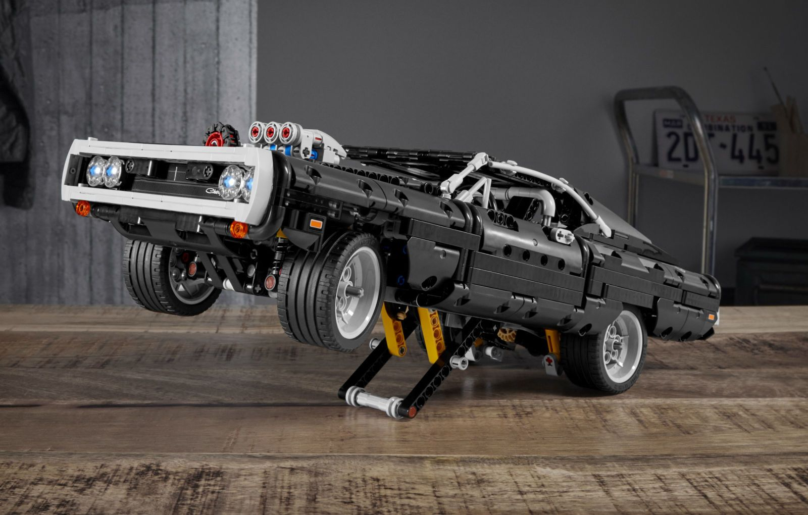 There's Now a Lego Version of Dom's Charger From Fast & Furious