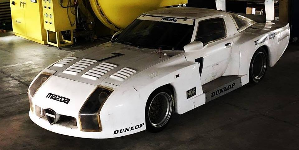 Mazda's Forgotten RX-7 Le Mans Car Was Just Discovered in Japan