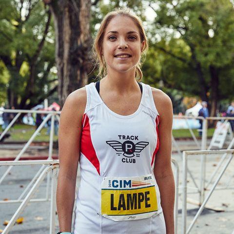 Marathoner and ER nurse Kayla Lampe