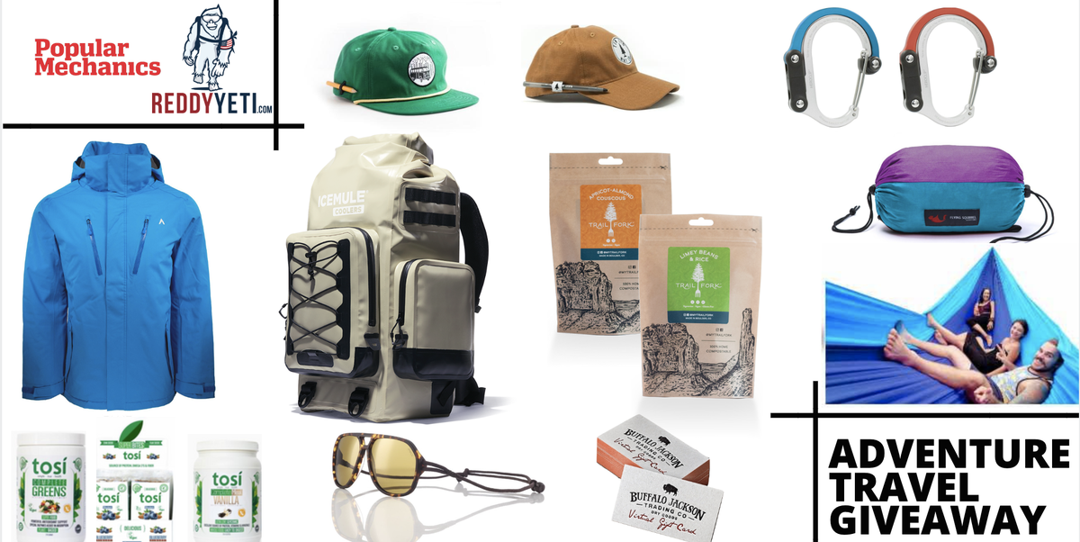 Popular Mechanics Sweepstakes >> Today Is Your Last Chance To Enter This Free Adventure Giveaway