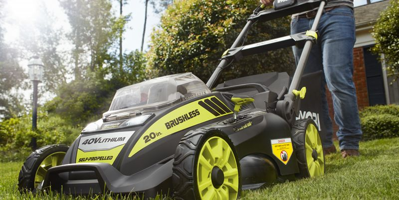 6 best electric lawn mowers of 2019 battery lawn mower. Black Bedroom Furniture Sets. Home Design Ideas