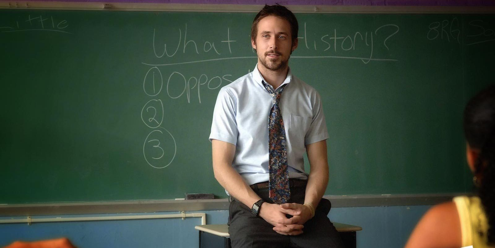 ryan gosling, teacher, half nelson,