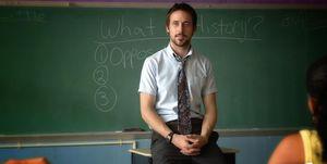 ryan gosling, teacher, half nelson,