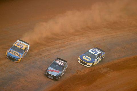 nascar cup series food city dirt race practice