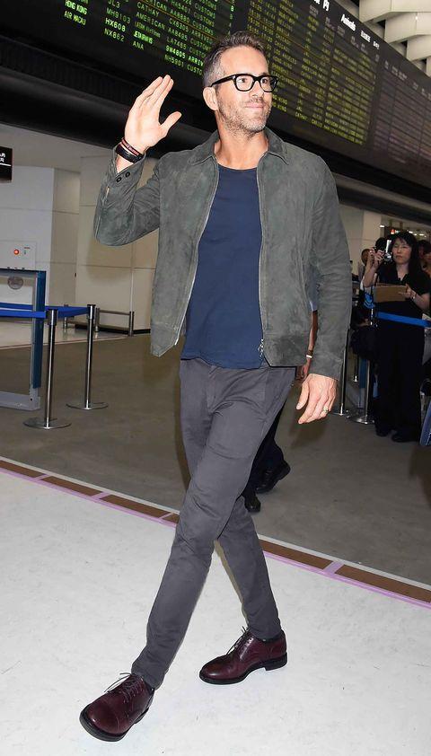 Ryan Reynolds Fashion Outfits Ryan Reynolds Best Style